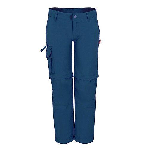 TROLLKIDS Zip-Off Hose Oppland Outdoorhosen blau