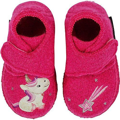 NANGA Hausschuhe LITTLE UNICORN  rosa Mädchen Baby