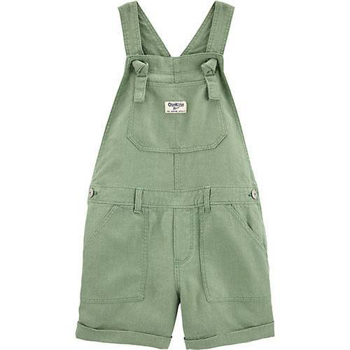 OshKosh Latzhose Mädchen grün  Kinder