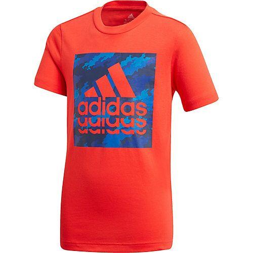 adidas Performance T-Shirt BOS GRAPH2  rot Jungen Kleinkinder