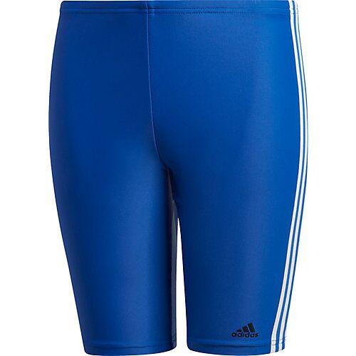 adidas Badehose FIT JAM 3S  blau/weiß Jungen Kleinkinder