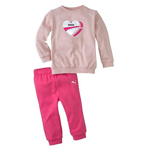 PUMA Baby Jogginganzug ALPHA  rosa Mädchen Baby