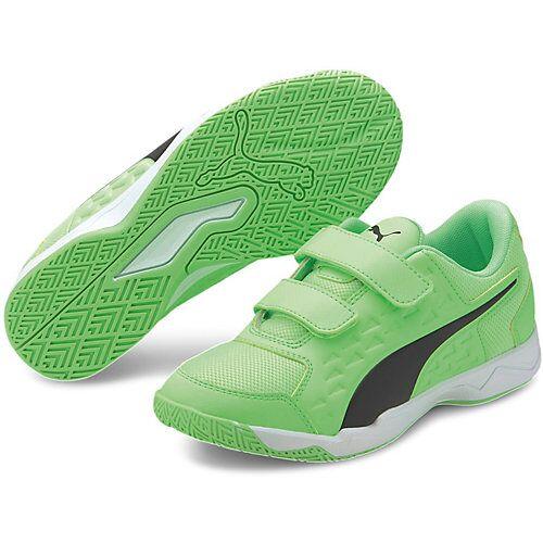 PUMA Sportschuhe AURIZ V JR  grün Mädchen Kleinkinder