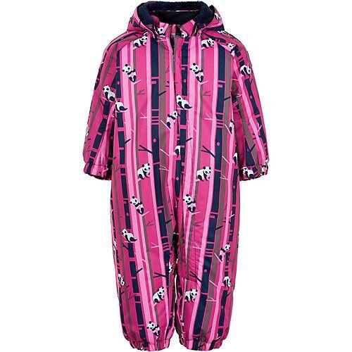 COLOR KIDS Baby Schneeanzug pink-kombi