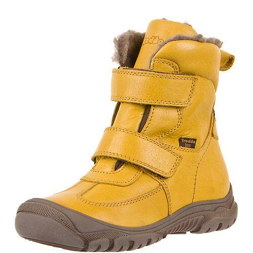 froddo® Kinder Winterstiefel gelb