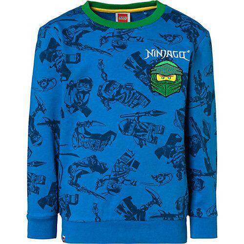 LEGO Ninjago Sweatshirt  blau Jungen Kleinkinder