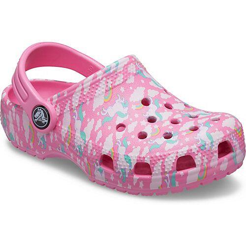 CROCS Clogs  rosa/weiß Mädchen Kleinkinder
