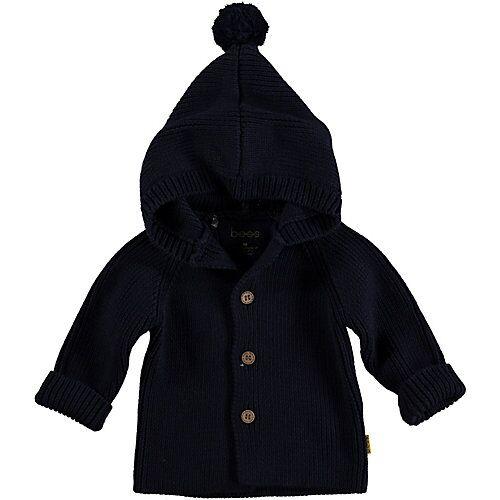 BESS Strickjacke  dunkelblau Jungen Baby