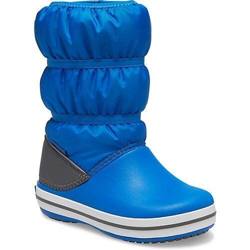 CROCS Kinder Winterstiefel blau/grau