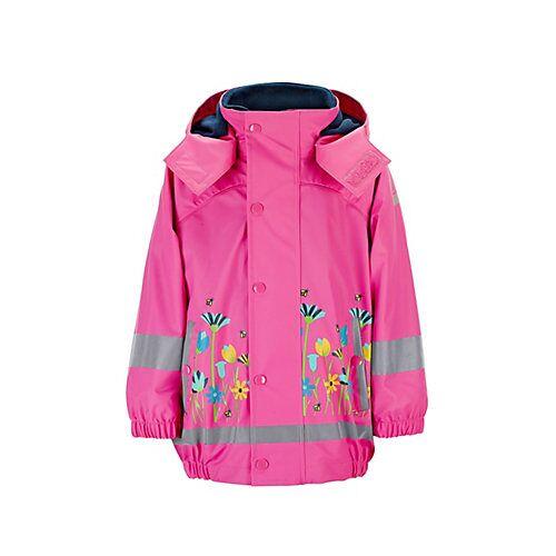 Sterntaler Regenbekleidung Regenjacke mit Innenjacke Regenjacken pink Mädchen Baby