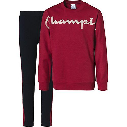 Champion Jogginganzug  rot Mädchen Kinder