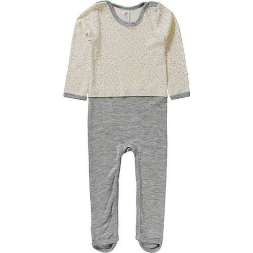 ENGEL Baby Schlafanzug weiß-kombi