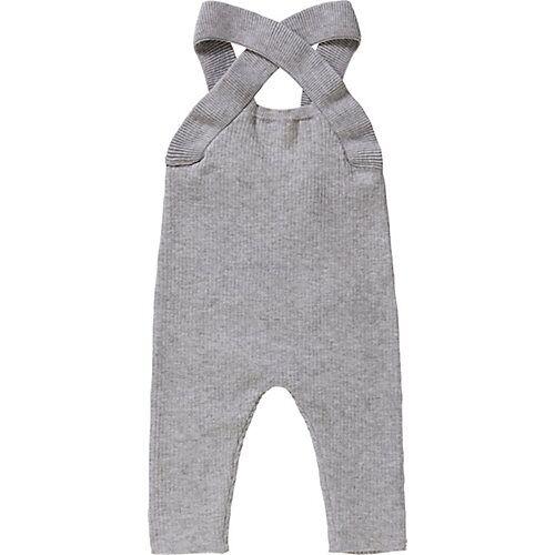Baby Latzhose  grau Mädchen Baby