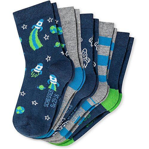 SCHIESSER Kinder Socken 5er Pack mehrfarbig