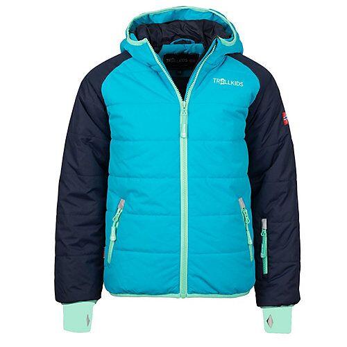 TROLLKIDS Skijacke Winterjacke Hafjell XT Winterjacken Kinder blau  Kinder
