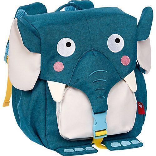 sigikid Rucksack Elefant School blau