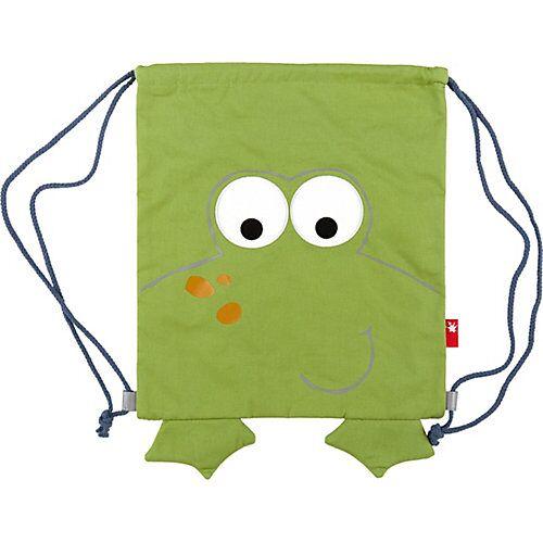 sigikid Turnbeutel Frosch School grün