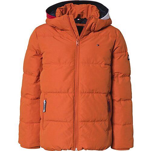 TOMMY HILFIGER Winterjacke  orange Jungen Kinder