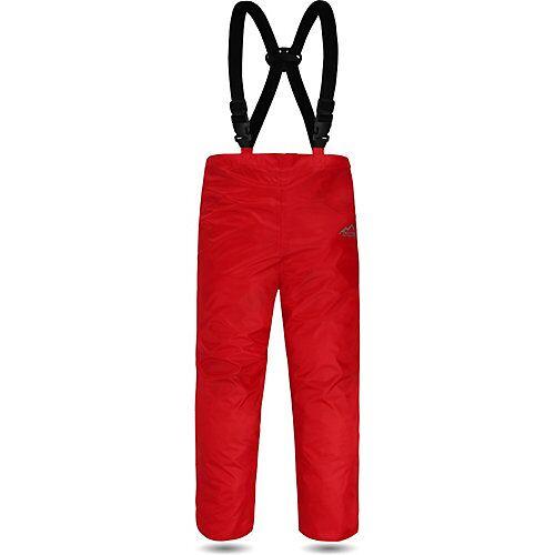 normani® Kinder Regenhose mit Hosenträgern Everett Regenhosen Kinder rot  Kinder