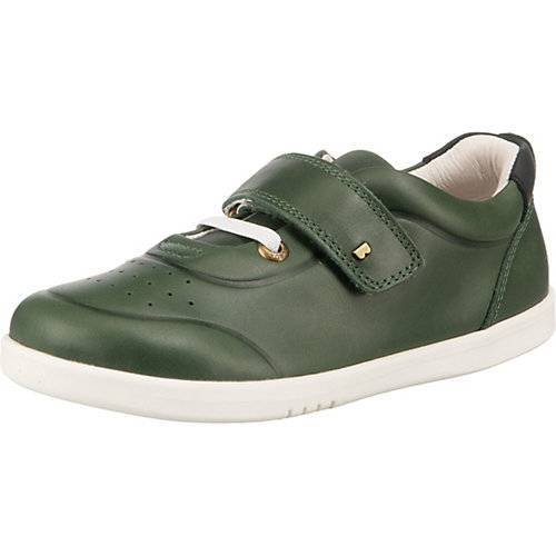 Bobux Kinder Sneakers Low RYDER, Barfußschuhe grün-kombi