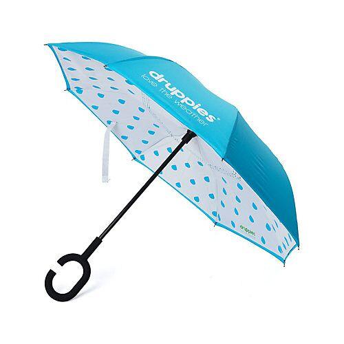 druppies ® Regenschirm  Regenschirm Regenschirme Kinder blau  Kinder