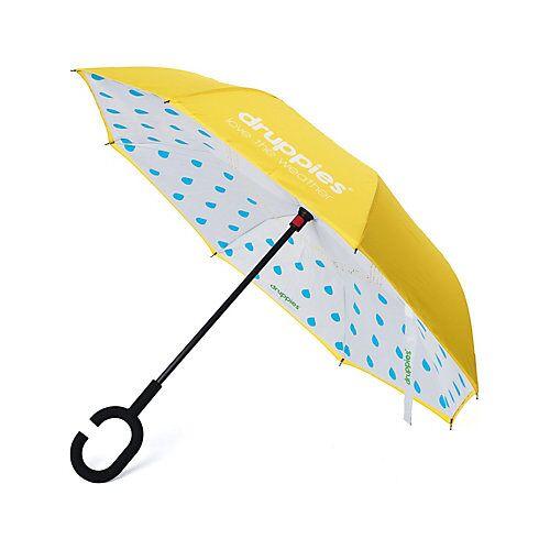druppies ® Regenschirm  Regenschirm Regenschirme Kinder gelb  Kinder