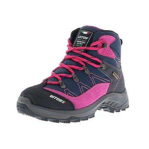 Lytos Kinder Mädchen Wanderschuhe Trekkingschuhe Outdoor blau/pink/schwarz Trekkingschuhe Mädchen Kinder