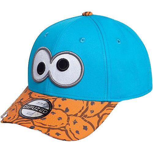 Sesamstraße Sesamstrasse Baseball Cap Cookie Monster Bite blau/braun