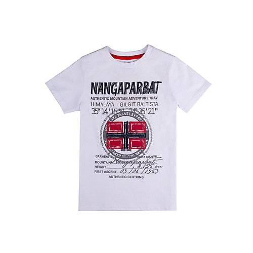 T-Shirt Nangaparbat T-Shirts  weiß Jungen Kinder