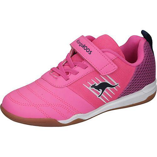 KangaROOS Kinder Sportschuhe pink