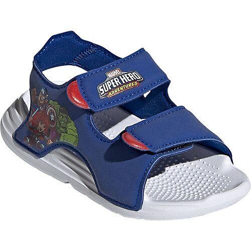 adidas Baby Badeschuhe SWIM  blau/weiß Jungen Kleinkinder