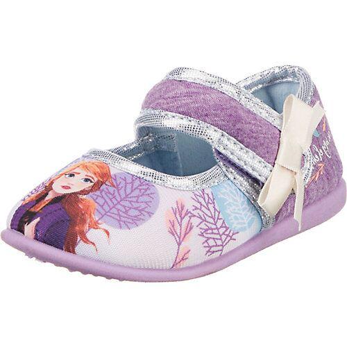 Disney Die Eiskönigin Baby Hausschuhe  lila Mädchen Kleinkinder
