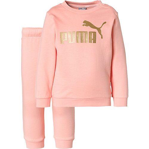PUMA Baby Jogginganzug ESS pink