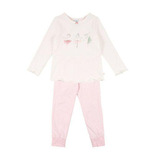 Sanetta schlafanzug Schlafanzüge weiß Damen Kinder