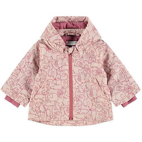 name it Baby Parka NBFMAXI  rosa Mädchen Baby