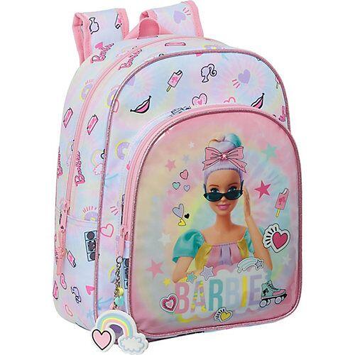 safta Kinderrucksack Barbie Girl Power pink