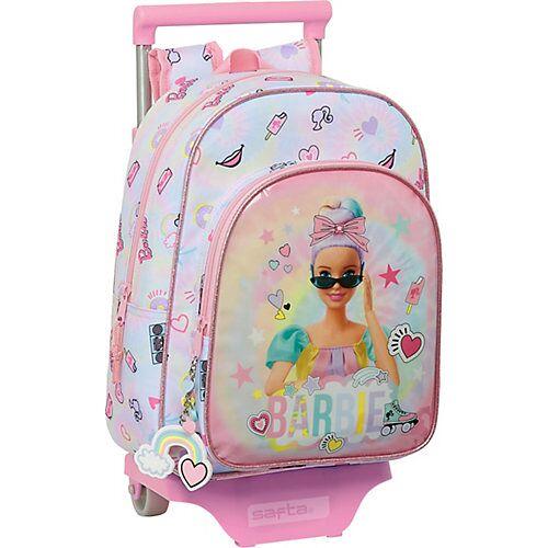safta Rucksack-Trolley Barbie Girl Power pink