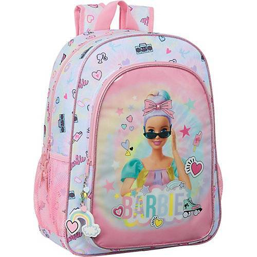 safta Freizeitrucksack Barbie Girl Power pink