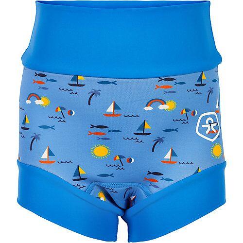 COLOR KIDS Baby Schwimmwindel mit UV-Schutz 40+  blau Jungen Baby