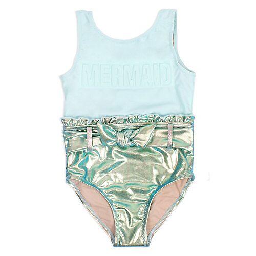 Shade Critters™ Kinder Badeanzug Metallic Mint Mermaid Badeanzüge  mehrfarbig Mädchen Baby