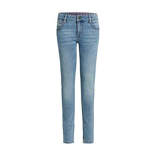 WE Fashion Jungen-Slim-Fit-Jeans Jeanshosen MiniM blau Jungen Kinder