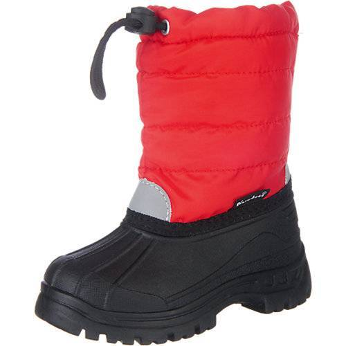 Playshoes Kinder Winterstiefel rot