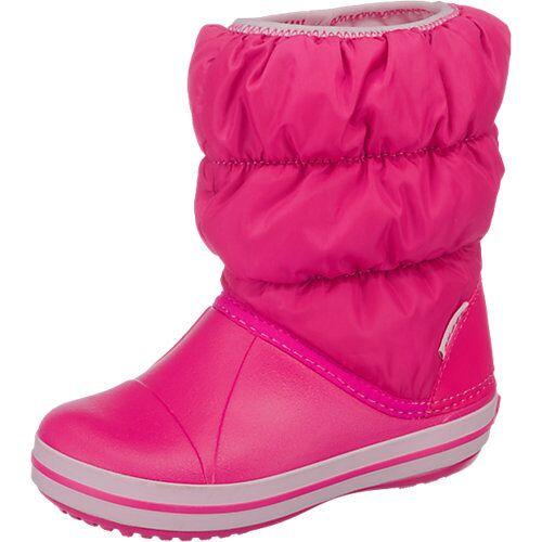 CROCS Kinder Winterstiefel rosa