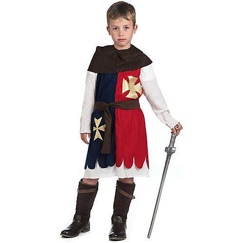 Limit Kostüm Kreuzritter blau/rot Jungen Kinder