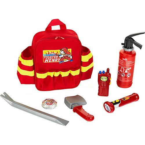 Klein Feuerwehr Rucksack Jungen Kinder