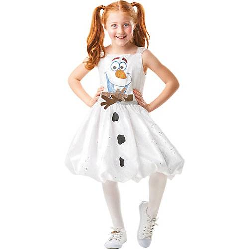 Disney Die Eiskönigin Kostüm Olaf Frozen 2 Air Motion Dress S (3-4J) weiß Mädchen Kleinkinder