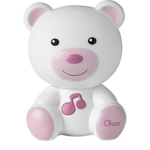 CHICCO Nachtlicht Bär, pink