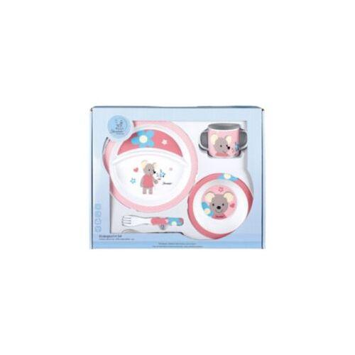 Sterntaler Kindergeschirr-Set Mabel Kindergeschirrsets rosa/weiß