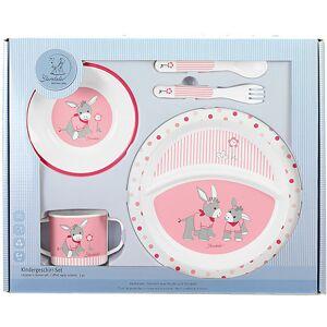 Sterntaler Kindergeschirr Emmi Girl, 5-tlg. Set, rosa/pink