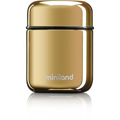 Miniland Thermobehälter Deluxe Mini, gold, 280 ml
